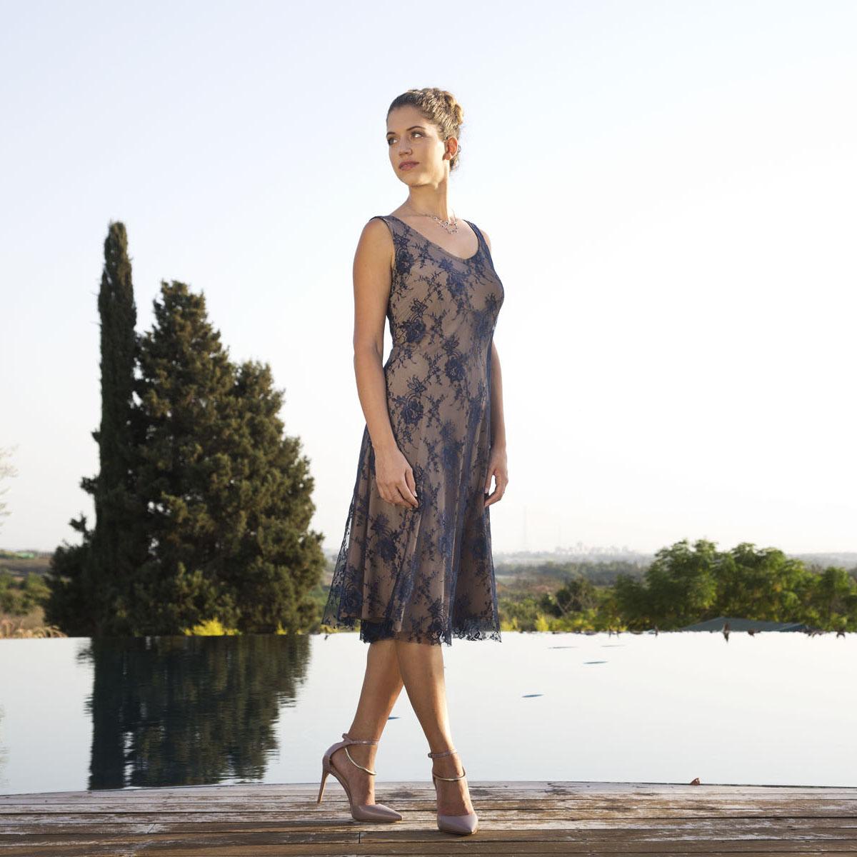 שמלת ערב מידי קלאסית