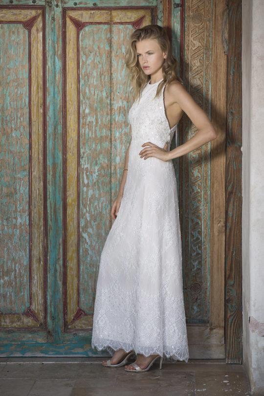שמלת כלה מחורזת
