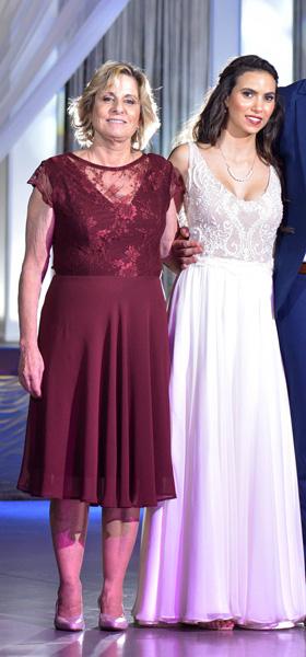 שמלת כלה ושמלת ערב לאמא של החתן