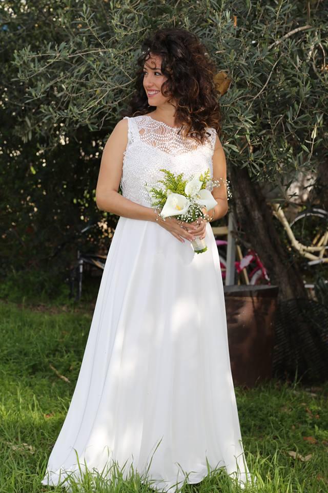 inbar's wedding dress
