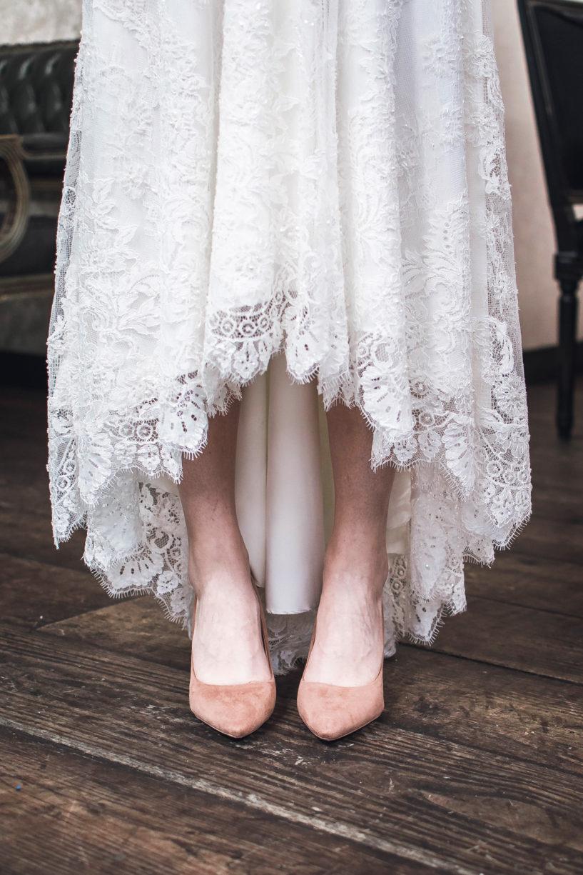 שמלת כלה עדינה ושיקית